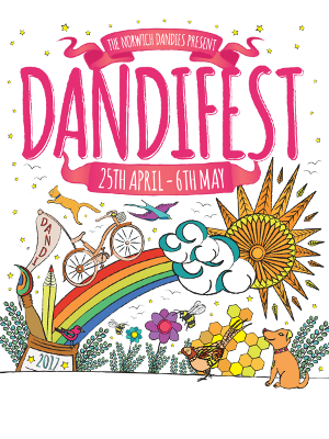 The poster for Dandifest 2017.